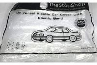 Disposable Car Covers Amazon Amazon Car Cover for Small to Mid Size Vehicles Elastic Band